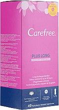 Духи, Парфюмерия, косметика Гигиенические ежедневные прокладки с ароматом свежести, 40 шт - Carefree Plus Long Fresh Scent