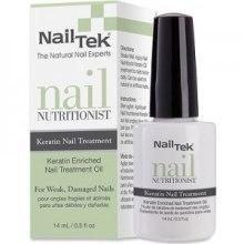 Кератиновое средство для восстановления ногтей - Nail Tek Nutritionist Keratin Oil — фото N2