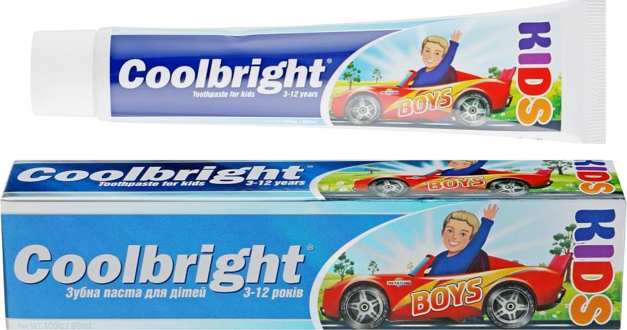 Детская зубная паста - Coolbright Kids Boys