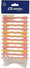 """Духи, Парфюмерия, косметика Бигуди """"Sinus"""" с круглой резинкой, жёлто-розовые, d7.5 - Comair"""