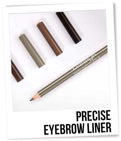 Олівець для брів - Misslyn Precise Eyebrow Liner — фото N2