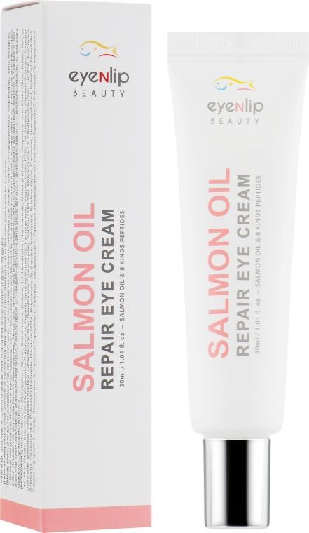 Eyenlip Salmon Oil Repair Eye Cream - Крем для глаз с лососевым маслом и пептидами: купить по лучшей цене в Украине | Makeup.ua