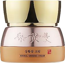 Духи, Парфюмерия, косметика Крем для кожи лица с женьшенем - Soosul Ginseng Cream