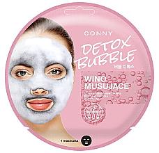 Духи, Парфюмерия, косметика Пузырьковая маска для лица - Conny Bubble Detox Wino Musujace