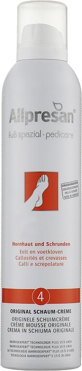 Крем-пена для стоп против трещин - Allpresan Foot Special 4 Schaum-Creme