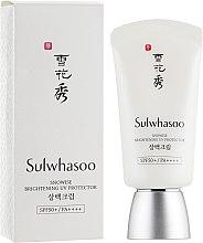 Духи, Парфюмерия, косметика Солнцезащитный крем для лица - Sulwhasoo Snowise Brightening UV Protector SPF50+ PA++++ (тестер)