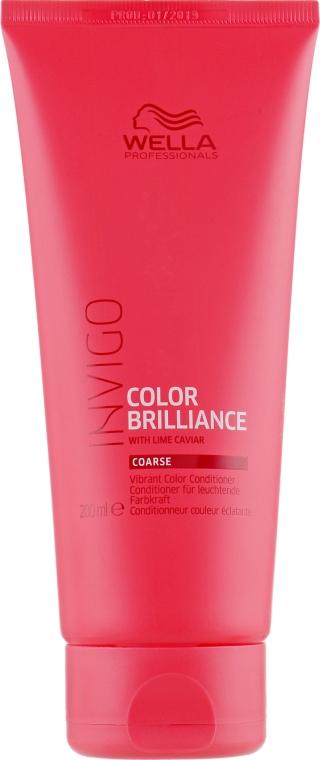 Кондиционер для яркости цвета жестких окрашенных волос - Wella Professionals Invigo Color Brilliance