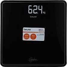 Духи, Парфюмерия, косметика Черные стеклянные весы - Beurer GS 400 Signature Line Black