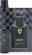 Духи, Парфюмерия, косметика Ferrari Scuderia Ferrari Black Limited Edition - Туалетная вода (пробник)