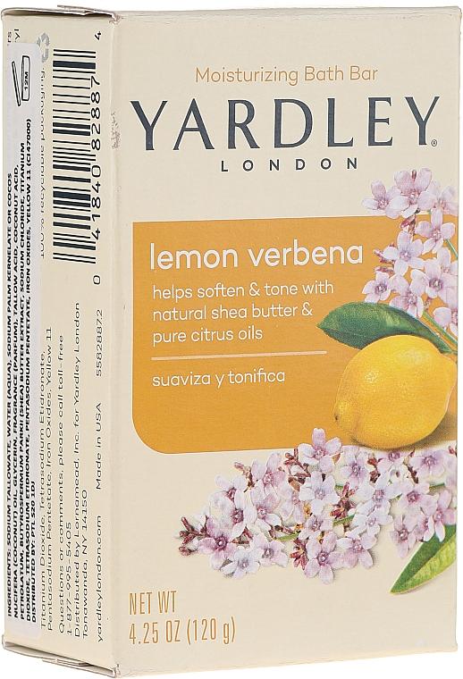 "Мыло ""Лимон и вербена"" - Yardley Lemon Verbena With Shea Butter Soap"