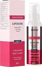 Духи, Парфюмерия, косметика Ночной антивозрастной крем с укрепляющей формулой - BingoSpa Liposome Antiwrinkle Night Cream 40+