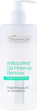 Антибактерийный гель для снятия макияжа - Bielenda Professional Face Program Antibacterial Gel Make-up Remover