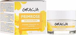 Духи, Парфюмерия, косметика Питательный крем с маслом примулы - Gracja Semi-oily Cream With Evening Primrose