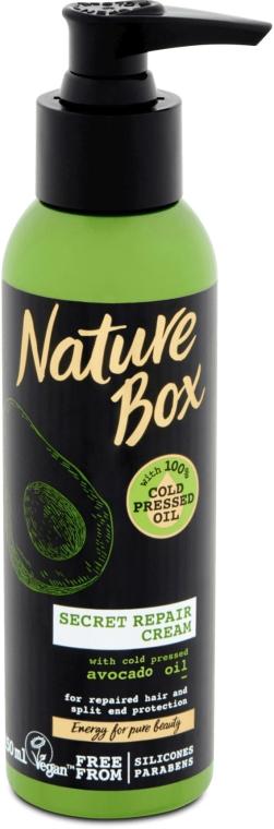 Крем для волос с маслом авокадо - Nature Box Secret Repair Cream