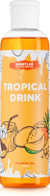 """Гель для душа """"Tropical Drink"""" - SHAKYLAB Natural Shower & Bath Gel"""