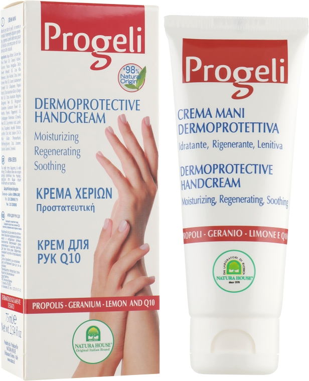 Крем для рук Progeli - Natura House Hand Cream
