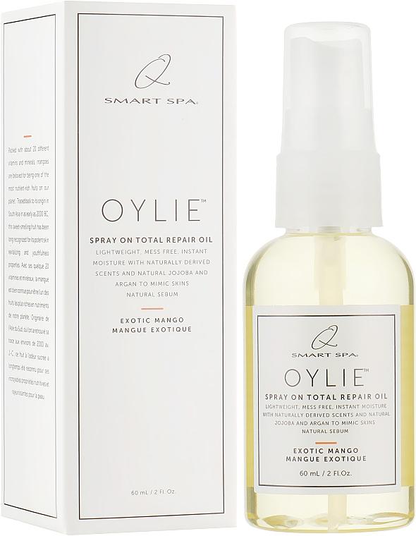 """Натуральное масло для тела с жожоба и арганой """"Экзотическое Манго"""" - Qtica Smart Spa Oylie Spray On Total Repair Oil Exotic Mango"""