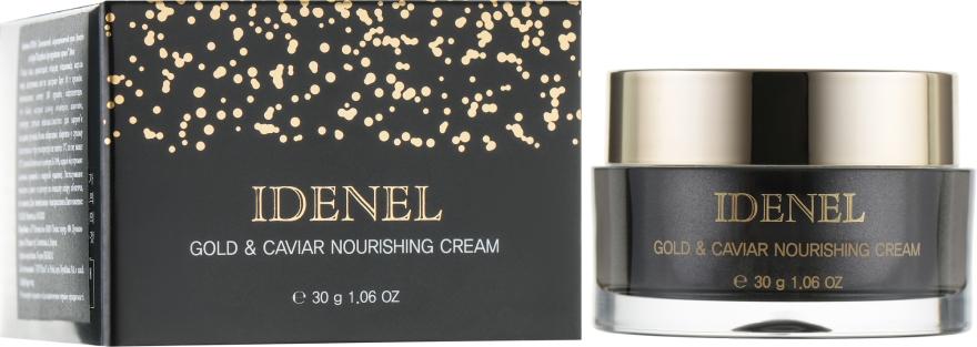 """Абсолютный регенерирующий омолаживающий крем """"Икра и Золото"""" - Idenel Gold & Caviar Nourishing Cream"""