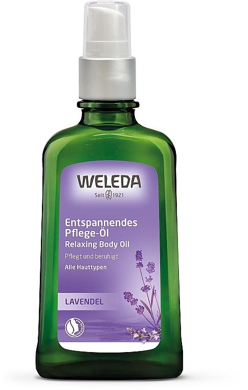 Лавандовое расслабляющее масло для тела - Weleda Citrus Erfrischungsöl