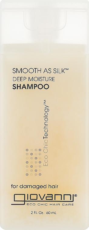 Шампунь для поврежденных волос - Giovanni Smooth as Silk Deep Moisture Shampoo