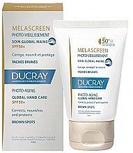 Духи, Парфюмерия, косметика Средство против пигментации для кожи рук - Ducray Melascreen Global Hand Care SPF 50+