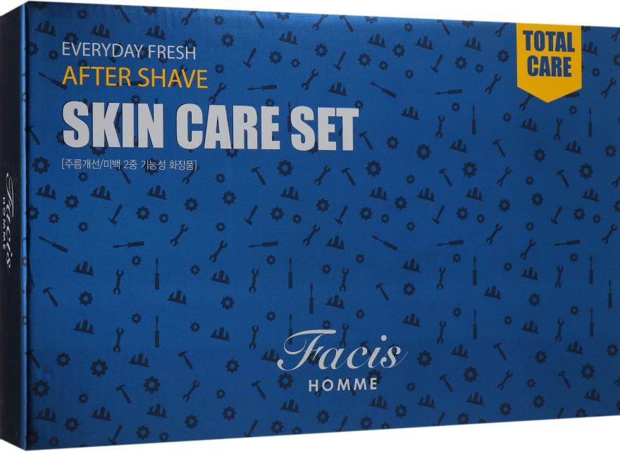 Набор для мужчин увлажняющий - Daandanbit Facis Homme Everyday Fresh Skin Care 2 Set (f/emulsion/160 ml + f/emulsion/30ml + f/toner/160ml + f/toner/30ml)