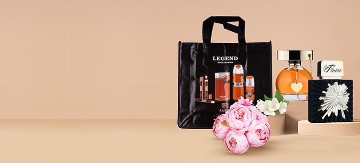 Сумка в подарок, при покупке парфюмов Emper или Vivarea на сумму от 500 грн