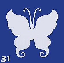 Духи, Парфюмерия, косметика Трафарет для боди-арта, 6 х 6 см, 31 - Biofarma