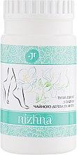 Духи, Парфюмерия, косметика Дезодорирующий противогрибковый тальк для ног с маслами чайного дерева и мяты - J'erelia Nizhna