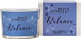Духи, Парфюмерия, косметика Органическая свеча - PuroBio Cosmetics Home Organic Balance
