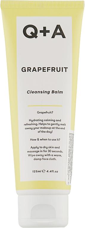 Очищающий бальзам - Q+A Grapefruit Cleanser