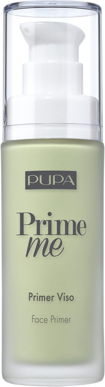 Корректирующий праймер для лица с покраснениями - Pupa Prime Me Corrective Anti-Redness Face Primer