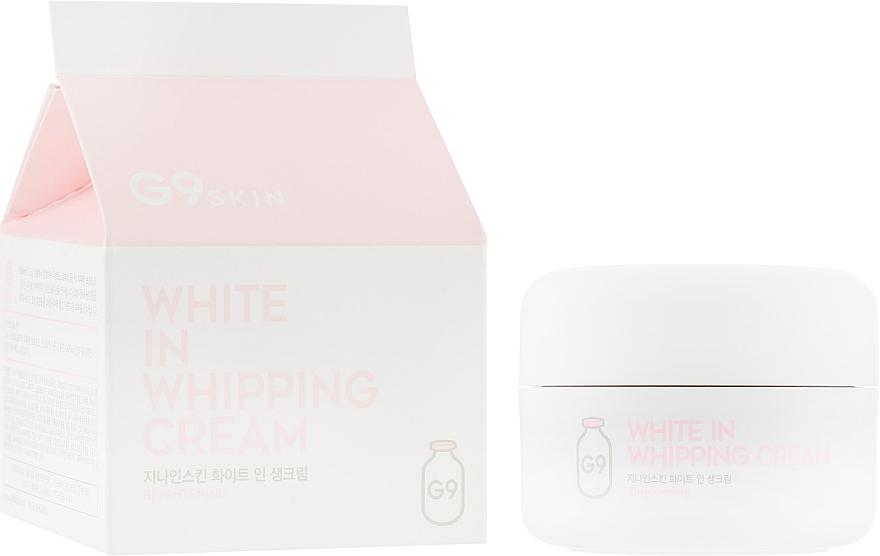 Крем для лица, осветляющий - G9Skin White In Whipping Cream