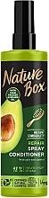 Духи, Парфюмерия, косметика Экспресс-кондиционер для восстановления волос и против секущихся кончиков с маслом авокадо холодного отжима - Nature Box Repair Vegan Spray Conditioner With Cold Pressed Avocado Oil
