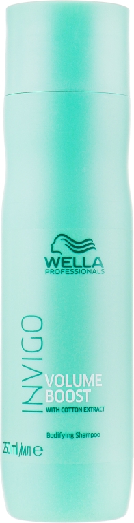 Шампунь для придания объема - Wella Professionals Invigo Volume Boost Bodifying Shampoo