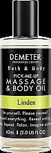 Духи, Парфюмерия, косметика Demeter Fragrance Linden - Масло для тела и массажа
