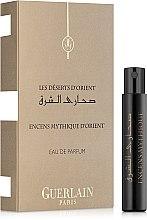 Духи, Парфюмерия, косметика Guerlain Encens Mythique D'Orient - Парфюмированная вода (пробник)