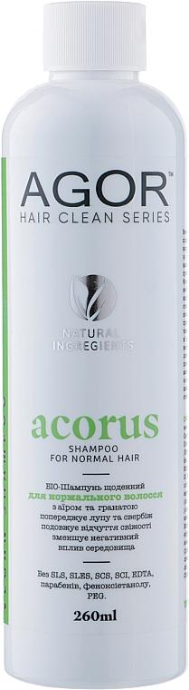 Био-шампунь для нормальных волос - Agor Hair Clean Series Acorus Shampoo For Normal Hair