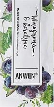 Духи, Парфюмерия, косметика Маска для среднепористых волос - Anwen Medium-Porous Hair Mask Grapes and Keratin (пробник)