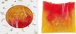 """Духи, Парфюмерия, косметика Натуральное мыло """"Грейпфрут"""" с люффой - Младна"""