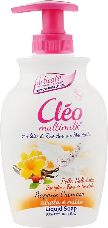"""Жидкое мыло """"Ваниль и Цветки Ореха"""" - Cleo Liquid Soap"""