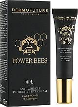 Духи, Парфюмерия, косметика Защитный крем для глаз против морщин - Dermofuture Power Bees Anti-wrinkle Protective Eye Cream
