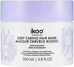 "Духи, Парфюмерия, косметика Маска-смузи для волос ""Детокс и баланс"" - Ikoo Infusions Deep Caring Hair Mask"
