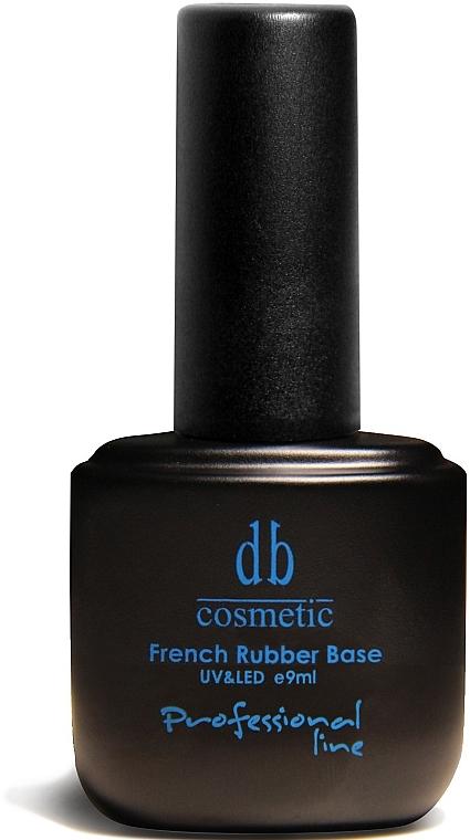Базовое покрытие для ногтей - Dark Blue Cosmetics French Rubber Base