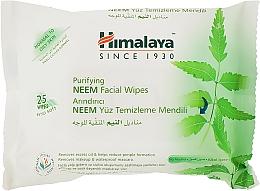 Духи, Парфюмерия, косметика Очищающие салфетки для лица - Himalaya Purifying Neem Facial Wipes