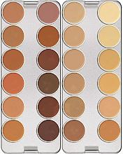 Духи, Парфюмерия, косметика Палетка корректоров, 24 цвета - Kryolan Dermacolor Camouflage Creme Palette