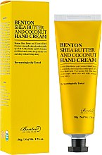 Духи, Парфюмерия, косметика Крем для рук с маслом ши и кокосом - Benton Shea Butter and Coconut Hand Cream