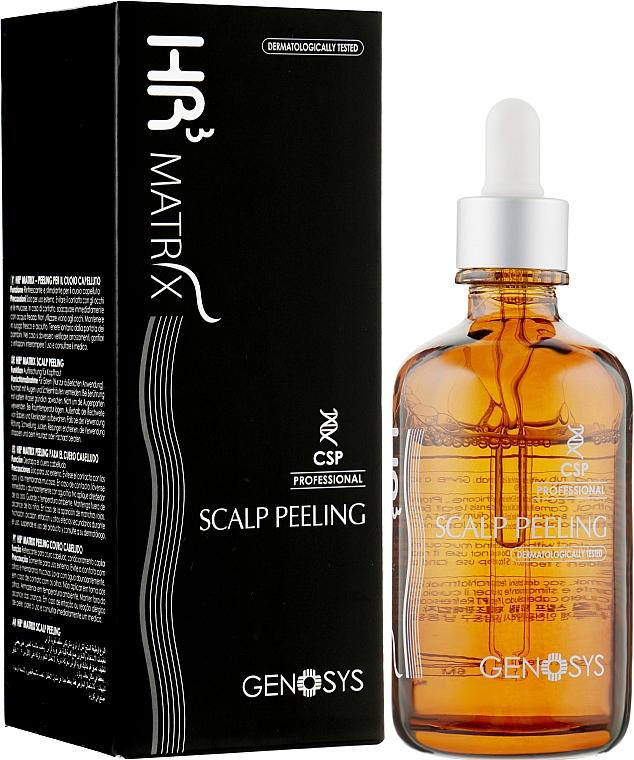 Пилинг для кожи головы - Genosys HR3 Matrix Clinical Scalp Peeling (CSP)