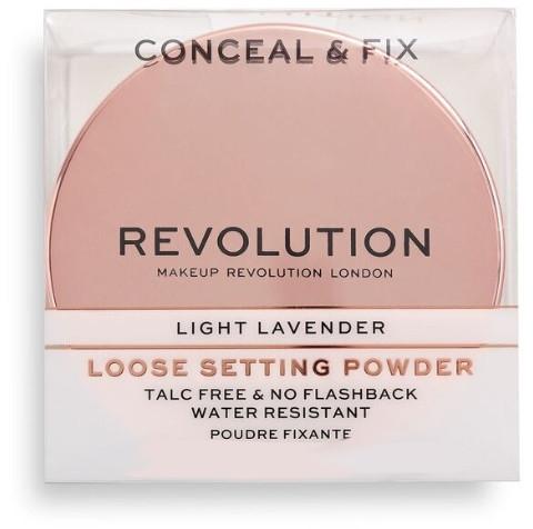 Рассыпчатая пудра - Makeup Revolution Conceal & Fix Setting Powder