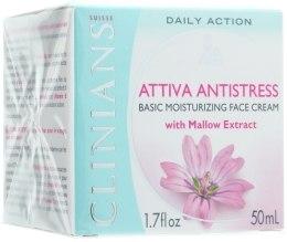 Духи, Парфюмерия, косметика УЦЕНКА Крем ежедневный ультра защитный - Clinians Attiva Antistress Basic Face Cream *